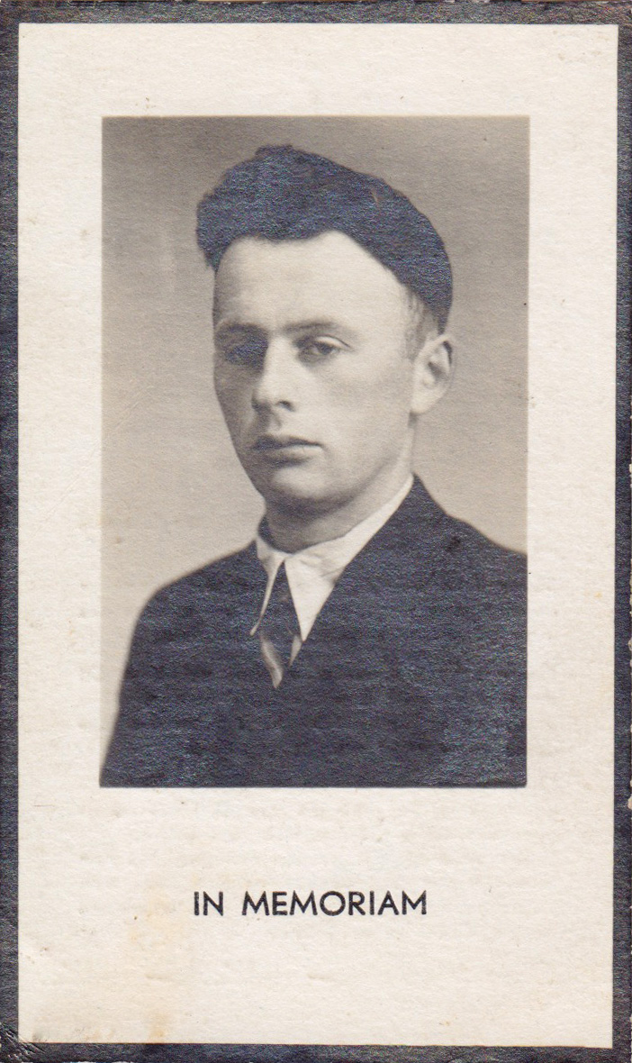 Bidprentje Petrus Cornelisvan Bakel
