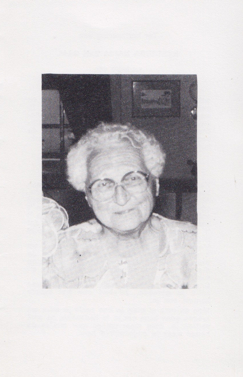 Bidprentje Gertruda Mariavan Gaal