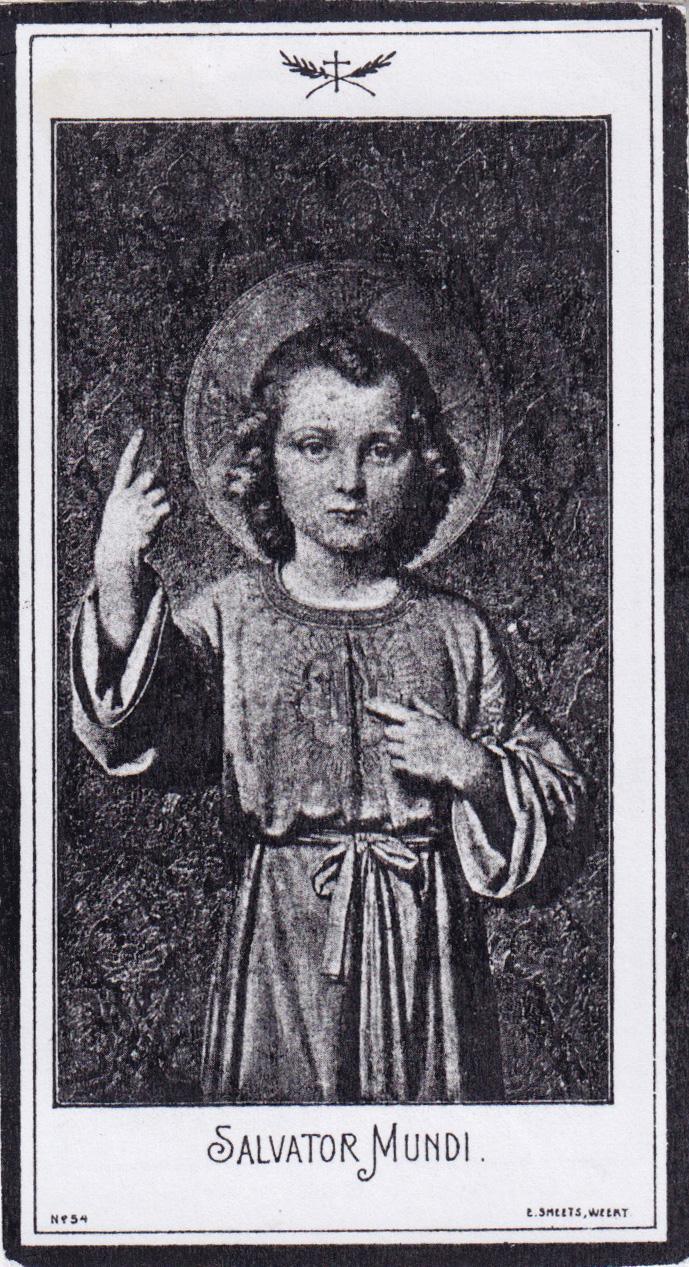 Bidprentje Henrika Johanna Peeters