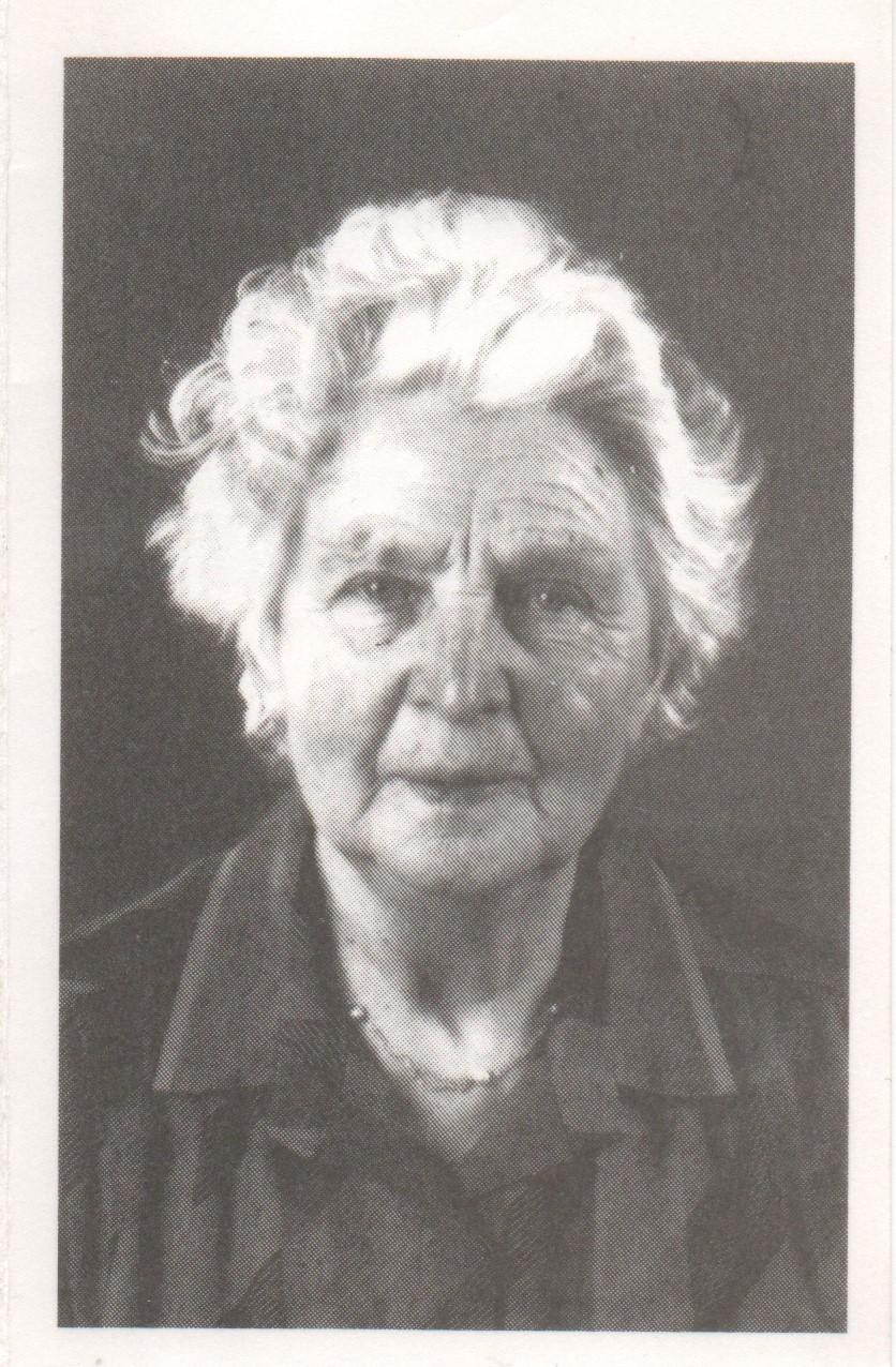 Bidprentje Johanna Petronella Verhallen
